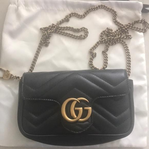 19bf7766805764 Gucci Bags   Gg Marmont Matelasse Mini Bag   Poshmark